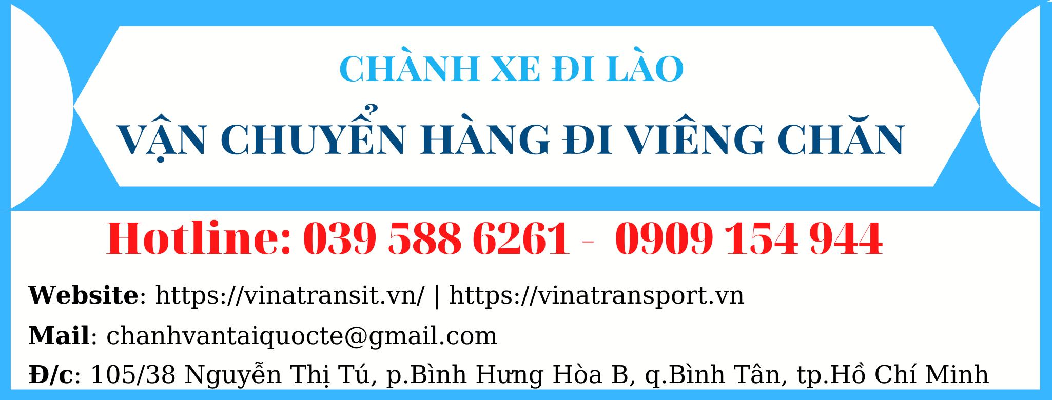 Vận chuyển hàng đi Lào