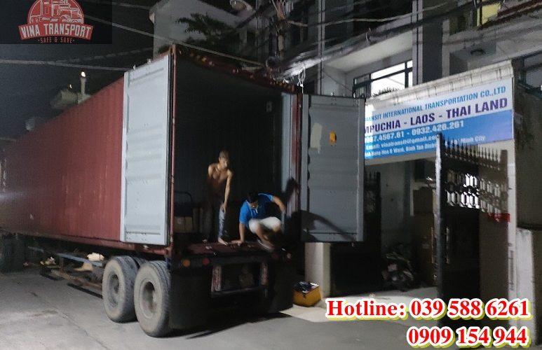 Vận chuyển hàng đi Campuchia bằng đường bộ Hình 1